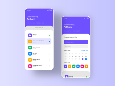 To Do List ui design ui8 uidesign uiux typography iphone vector task app to do list apple ios design abstract branding graphic design app clean ui ux