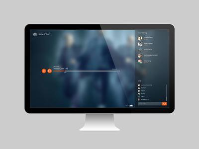 Simulcast UI