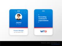 New Wisepower ID Card