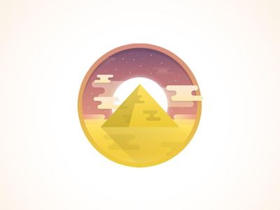 Quick Egypt / Pyramid Icon icon egypt pyramid