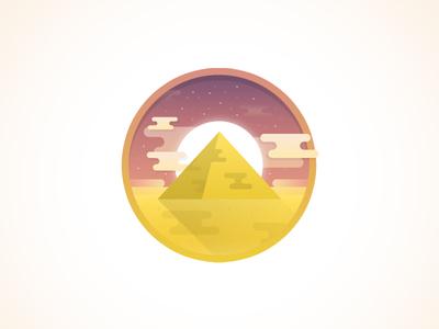 Quick Egypt / Pyramid Icon