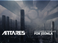 Antares Template For Joomla