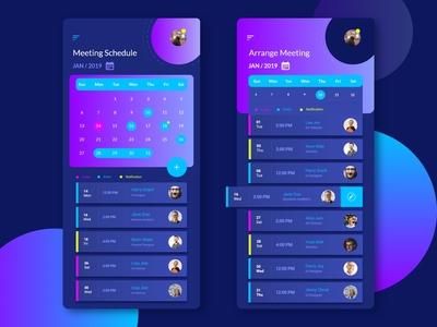 Business Meeting App Design