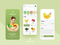 Grocery Mobile App product page design online store design inspiration creative inspiration clear mobile design dribbble design health food mobile app vegetable mobile app food mobile app mobile app design bacancy technology inspiration ui ux design daily product mobile app grocery mobile app