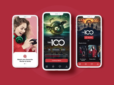 Movie App Free XD movie poster mobile template web template website new trending app ui ux trend 2021 creative mobile app ui ux design mobile application ios mobile app android mobile app mobile app movies shows series mobile app movie mobile app
