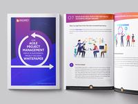 Agile Management Free PSD Mockup