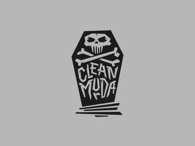 Clean Murda logo alternative