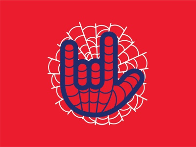 Symbol of Love from Peter marvel website spider love hand symbol icon symbol
