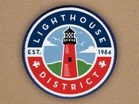 2017 BSA Lighthouse District Rebrand