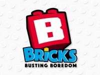 Bricks Busting Boredom Logo