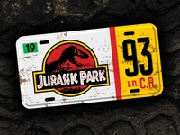 1993 Original Tribute Plate