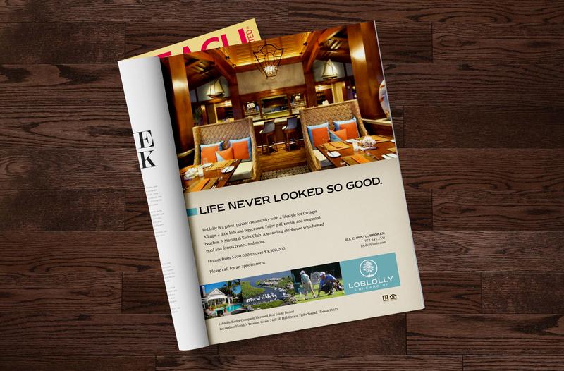 Country Club Ad restuarant florida club flyer dinner club private club magazine ad country club