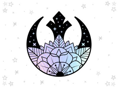 Rebel Rose Hologram