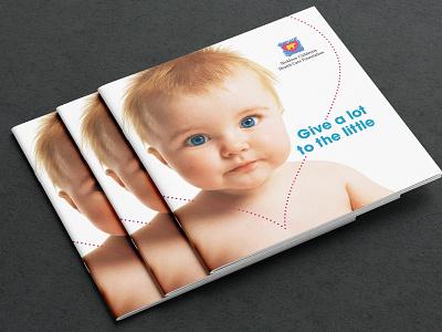 Square Brochure Mockup Cvr square hospital children foundation brochure