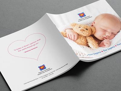 Square Brochure Mockup Cvr2 branding baby bear square hospital children foundation brochure