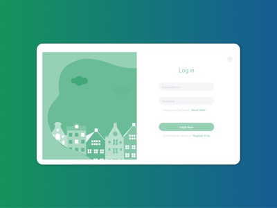 Log in Forms minimal graphic design website illustrator ux ui typography illustration icon design