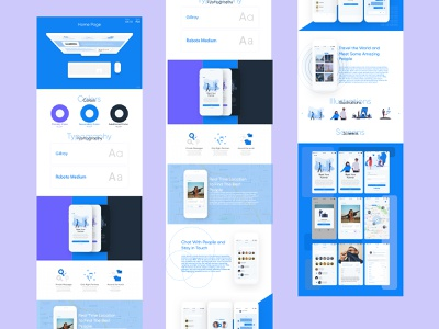 Dating App Website minimal web website app ux ui typography illustration icon design
