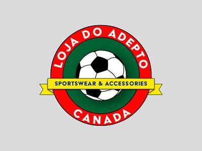 Loga do Adepto - Sportswear/Athletic Logo sports logo sportswear logo design concept vector logo design branding