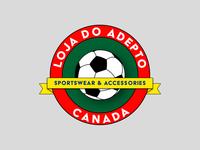 Loga do Adepto - Sportswear/Athletic Logo