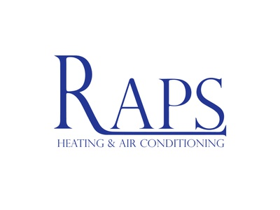 Raps Heating heating logo design concept vector logo design branding