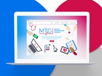 Medical Technologies Gateway - Website Concept