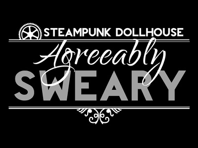 Steampunk Dollhouse T-Shirt t-shirt podcast