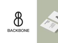 Backbone Logo (w/ a business card sneaky-peek)