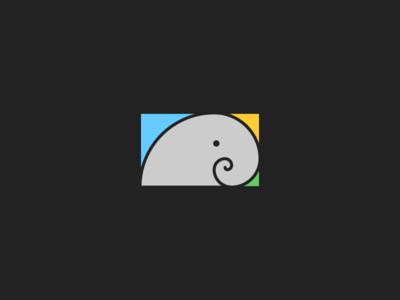 Golden Spiralphant