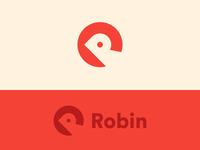 R / Robin logo
