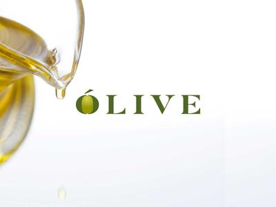 Olive fruit or vegetable mark oil olive logo
