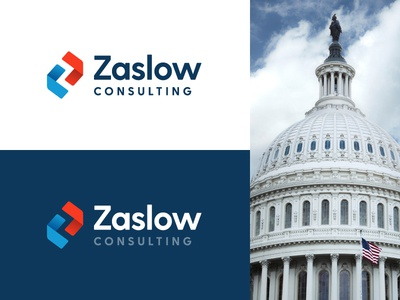 Zaslow Consulting government usa us funding zaslow consulting z negative space mark logo