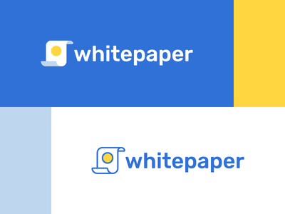 Whitepaper page currency crypto whitepaper paper coin logo