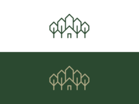 Cabin / Church / Forest logo