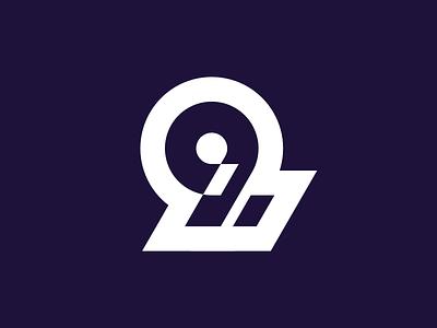9 unused 2d design vector simple flat minimalistic logo