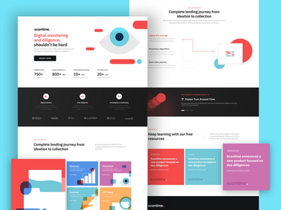 Landing exploration style check landing page web technology security due diligence
