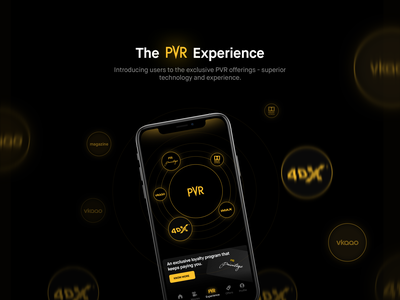 PVR Mobile App redesign sketchapp pvr movie technology loyalty program cinema case study ios ui ux mobile ui