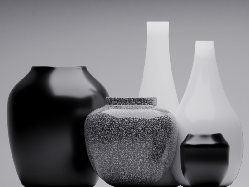 Armchair Potter denoise noir dark minimal minimalist lighting art blender3dart blender3d blender