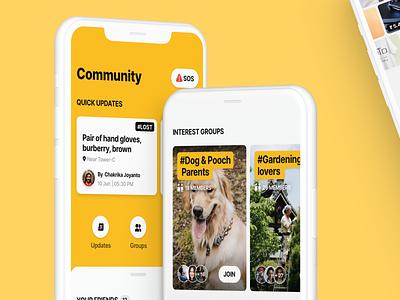 Smart campus app part trois graphic design minimal creative ios app design vector ux ui design