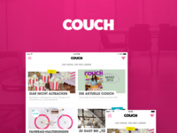 Couch- an app that'll make you shop