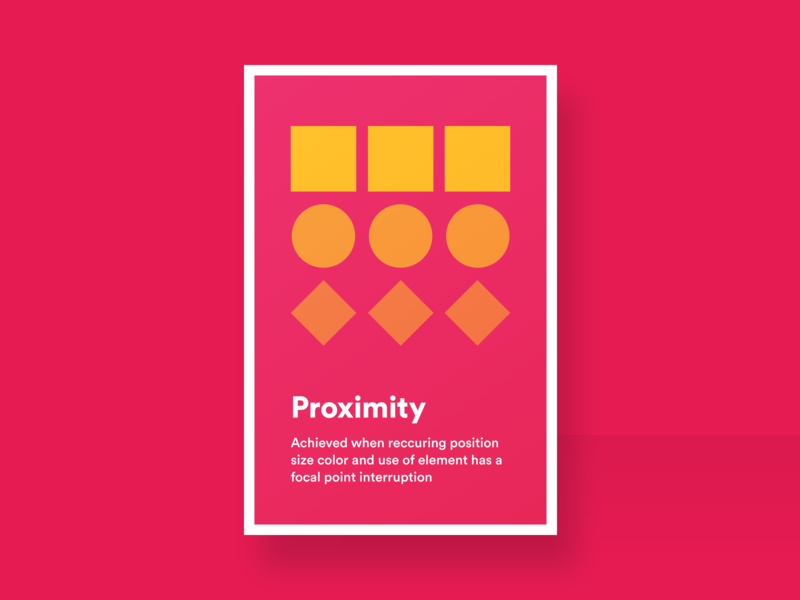 Proximity graphicdesign posters ui  ux ui designthinking