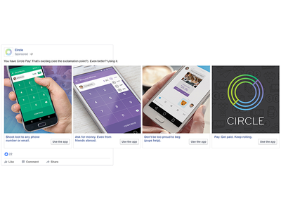 App Features Carousels for Facebook and Instagram