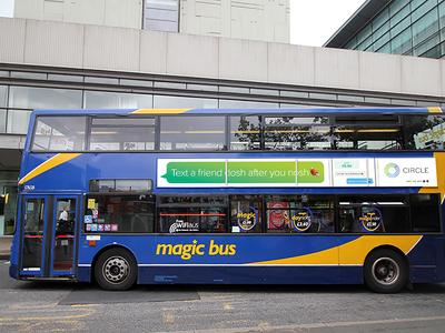 UK bus advertising