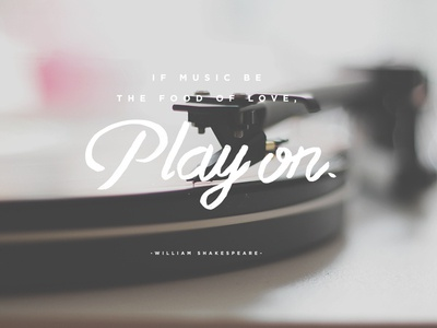 Play on.