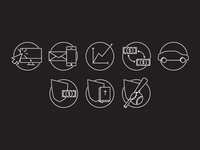 Giving Illustration Icons
