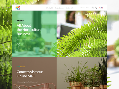 E-commerce + Brand for Horticulture Company website web ecommerce shop ecommerce design ecommerce design ux ui product