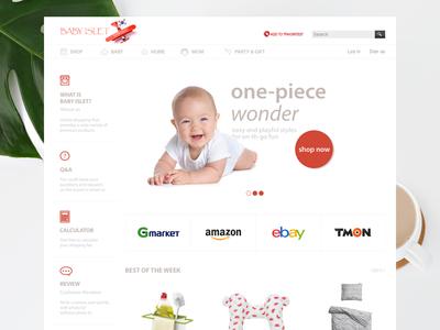 Baby Goods E-Commerce