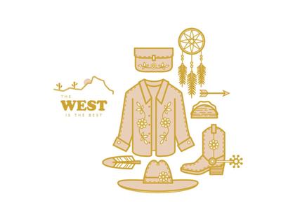 nothing beats the west floral feather spur arrow taco blouse shirt fashion dream catcher cowboy cowboy boots cowboy hat west