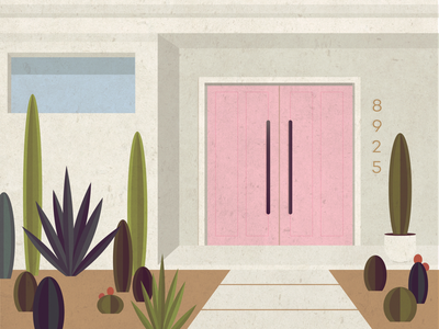 palm springs appreciation throwback summer home desert architecture doors house cactuses cactus california palm springs