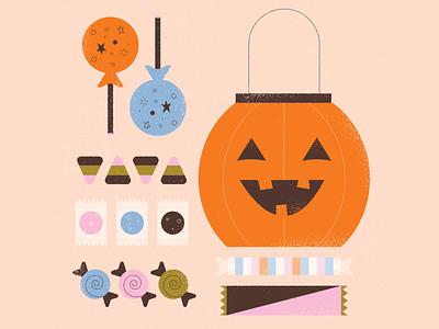 vectober // 11 // candy corn inktober spooky jackolantern pumpkin trick or treat sweets sugar suckers halloween candy corn candy
