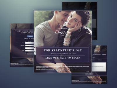 Christofle Facebook App